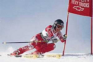 American Paula Moltzan Leads U.S. Ski Team in Sölden