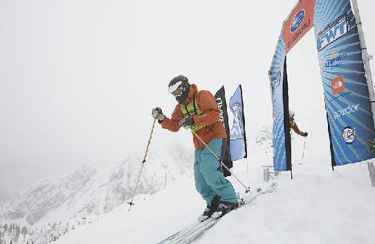 Skier in Niseko