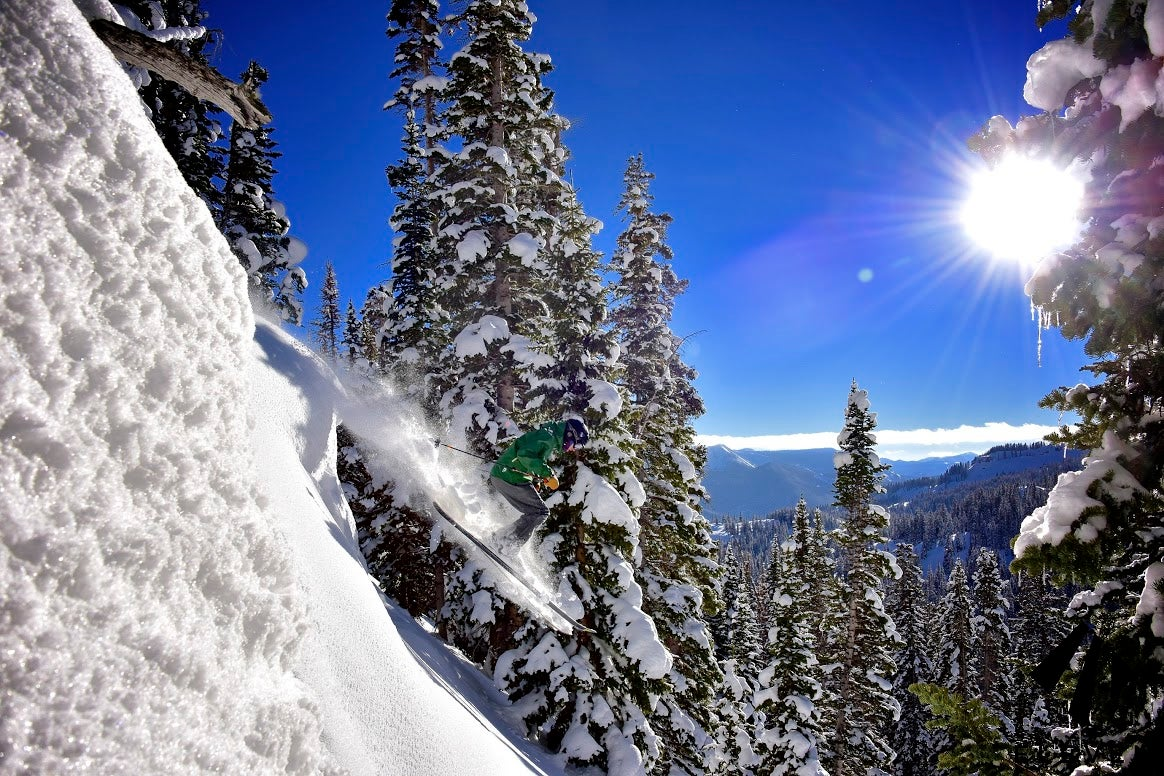 """No. 3: Deer Valley, Utah""""On-mountain dining, while not inexpensive, is the highest quality of any ski area and totally worth the price.""""Photo courtesy of Deer Valley Resort."""