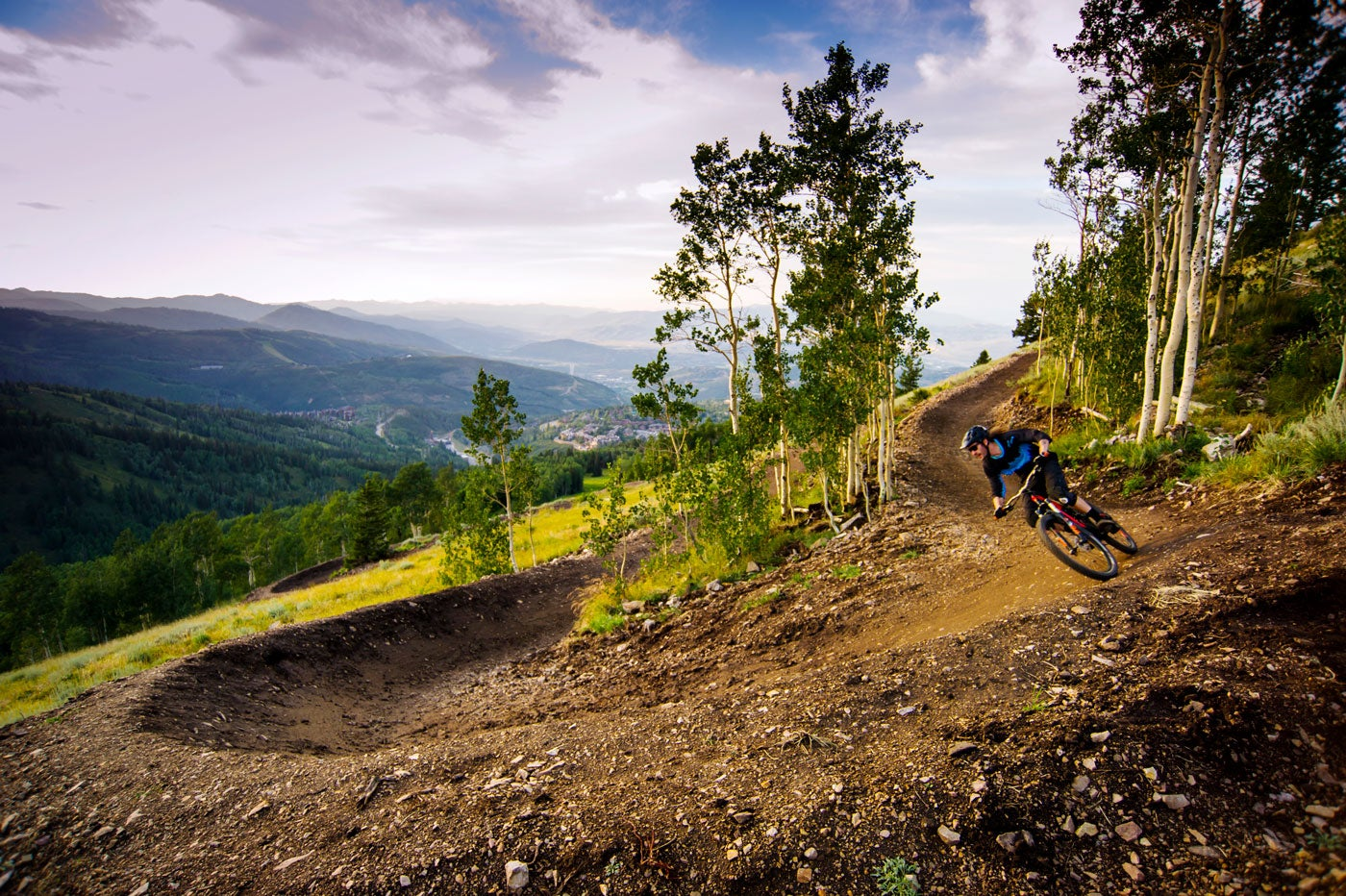 Deer Valley Resort mountain biking
