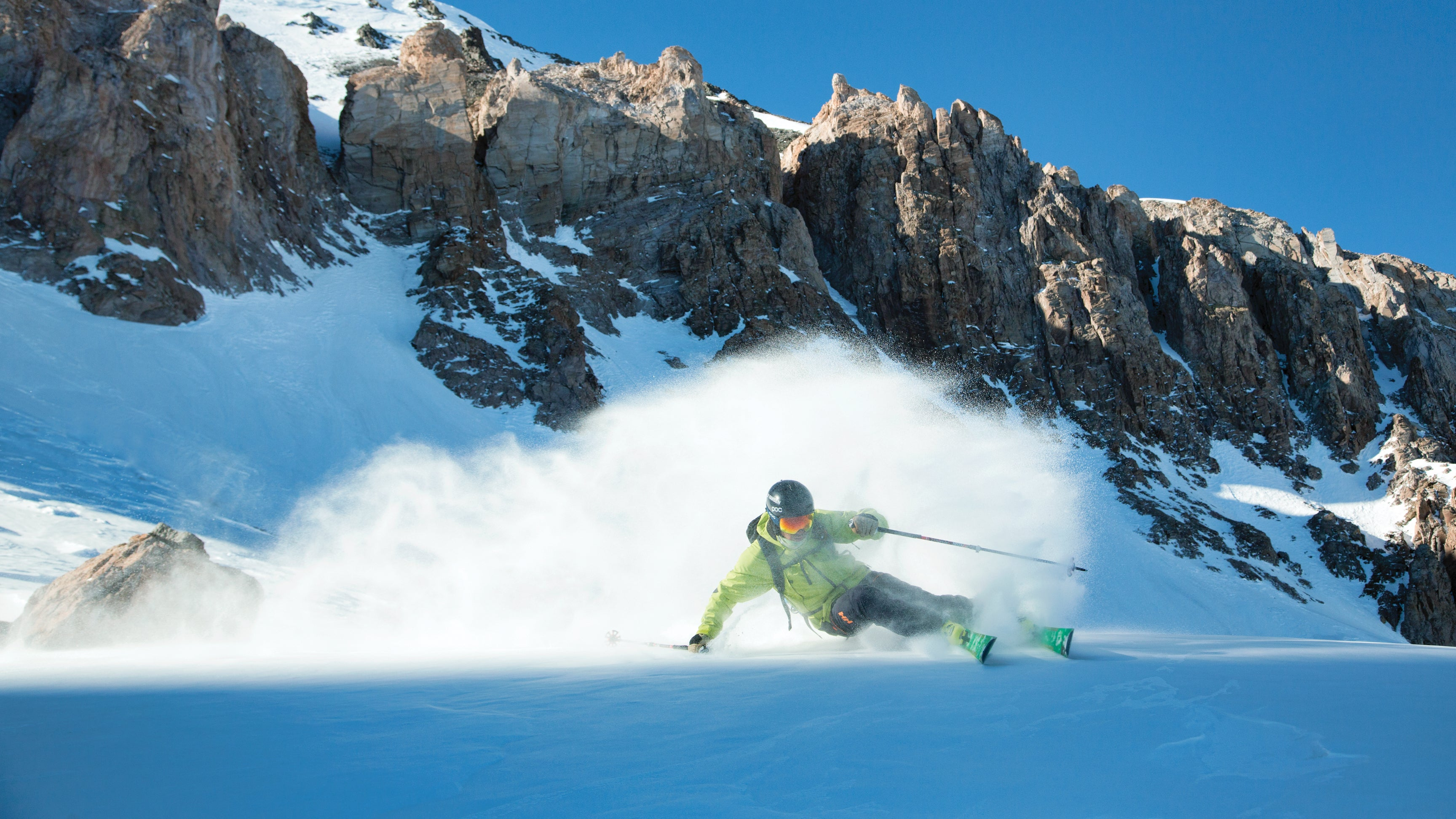 Marcus Caston Carve Valle Nevado