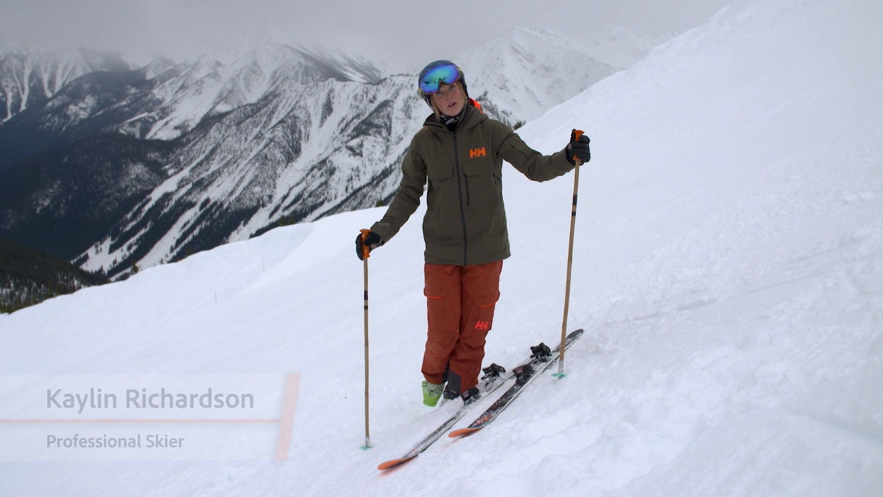 Mastering Steeps Tip: Putting on Skis in Steep Terrain