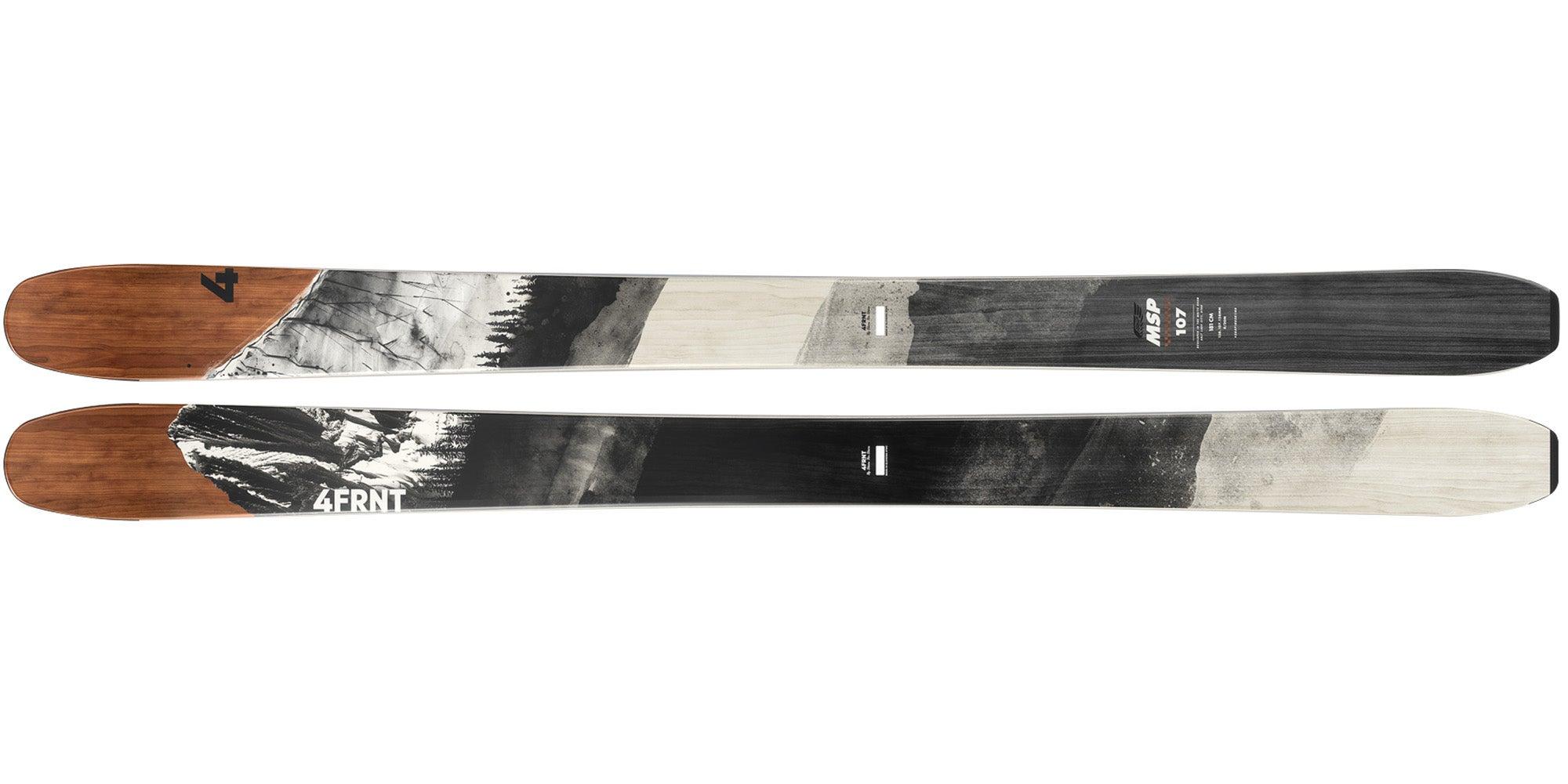 2021 4FRNT MSP 107 Men's All-Mountain Wide Ski