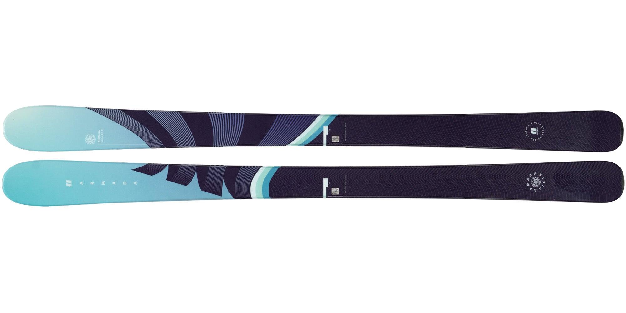 The 2021 Armada Victa 87Ti Women's Frontside Ski