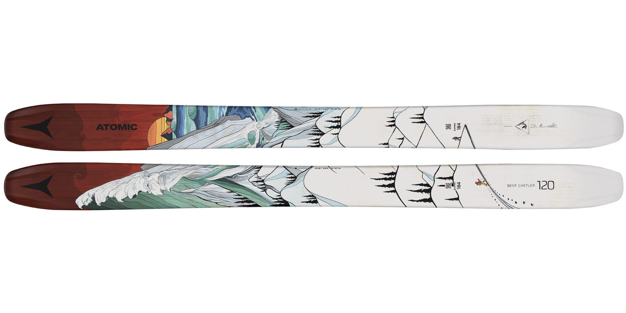2021 Atomic Bent Chetler 120 men's deep snow ski