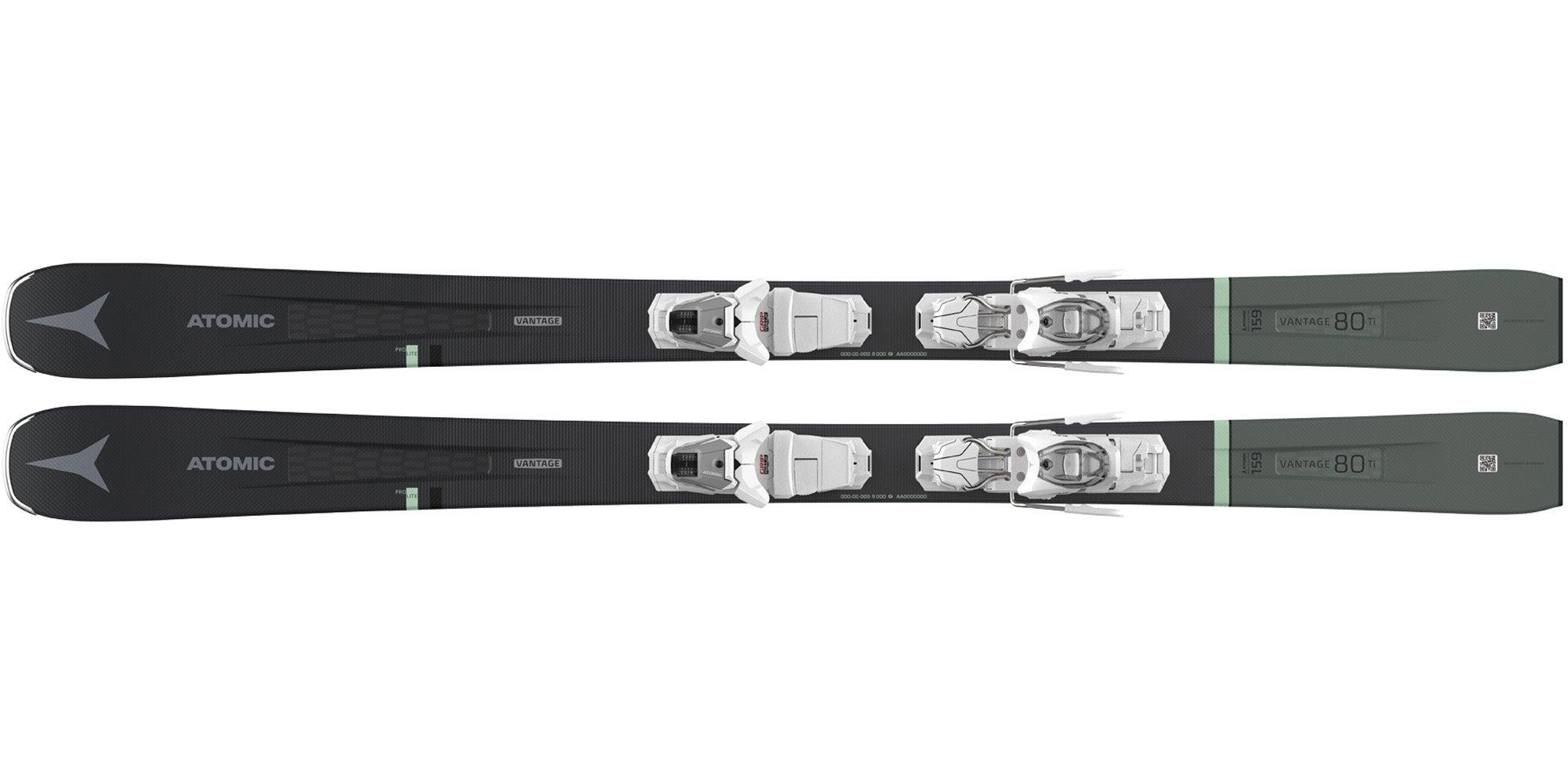The 2021 Atomic Vantage 80 Ti W Women's Frontside Ski