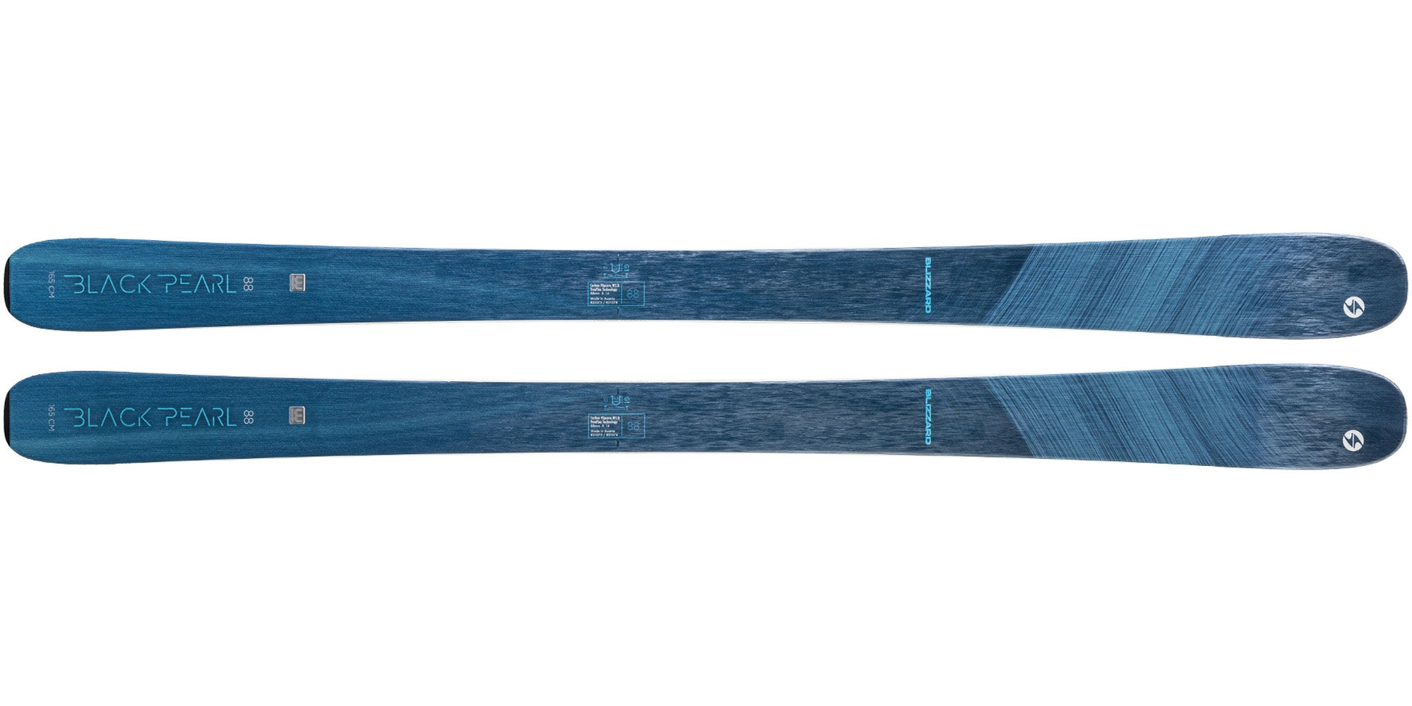 The 2021 Blizzard Black Pearl 88 Women's Frontside Ski