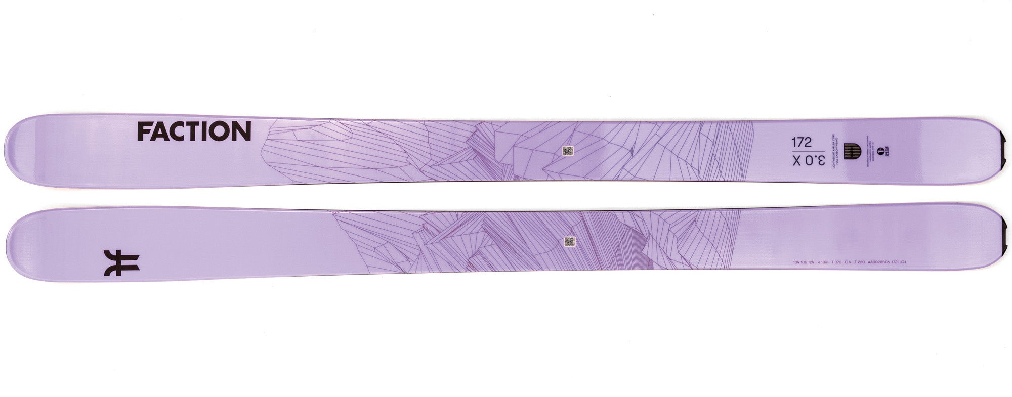 The 2021 Faction Agent 3.0x Women's All-Mountain Wide Ski