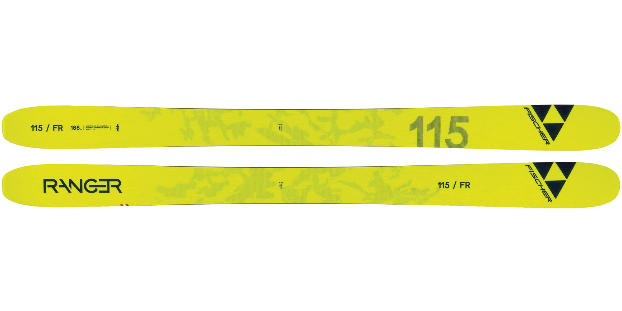 2021 Fischer Ranger 115 FR deep snow ski