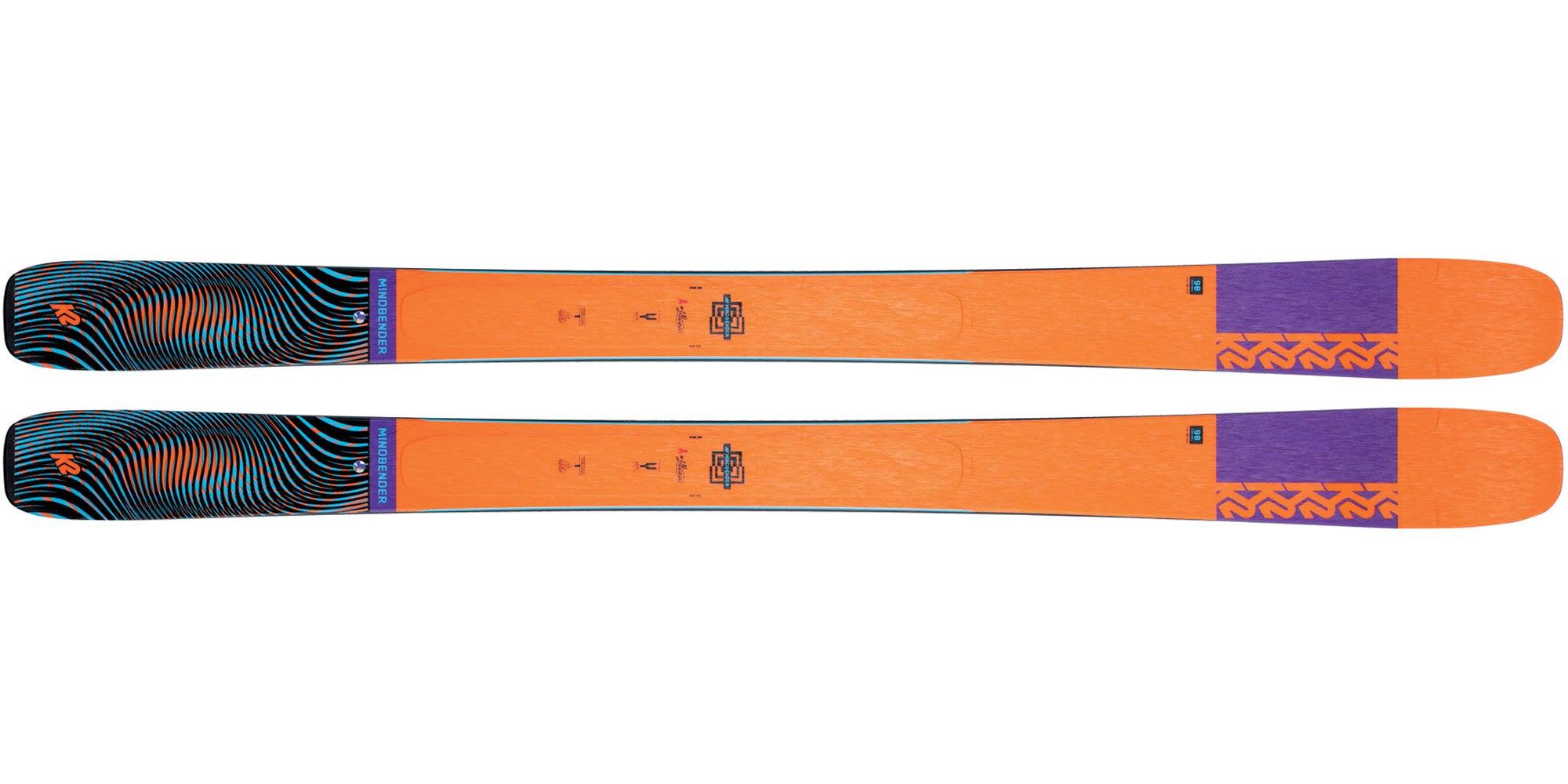 The 2021 K2 Mindbender 98Ti Alliance Women's All-Mountain Ski