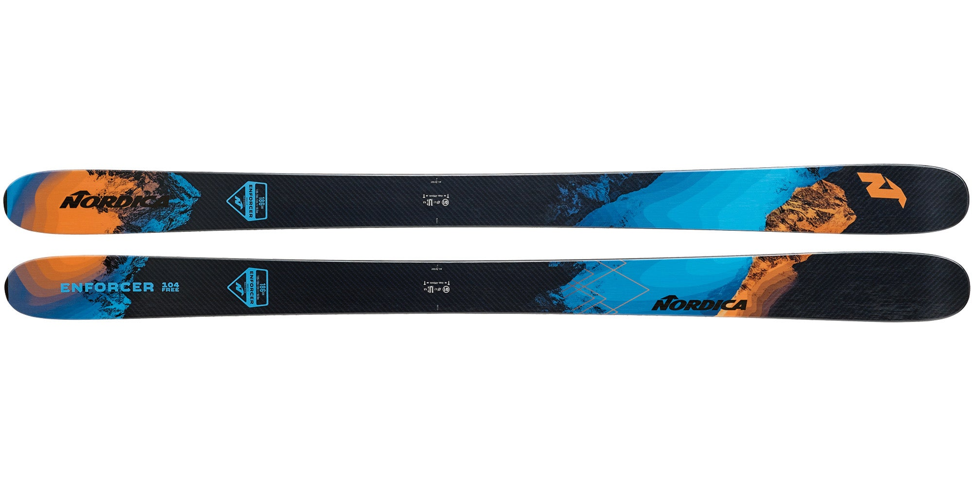 2021 Nordica Enforcer 104 Free Men's All-Mountain Wide Ski