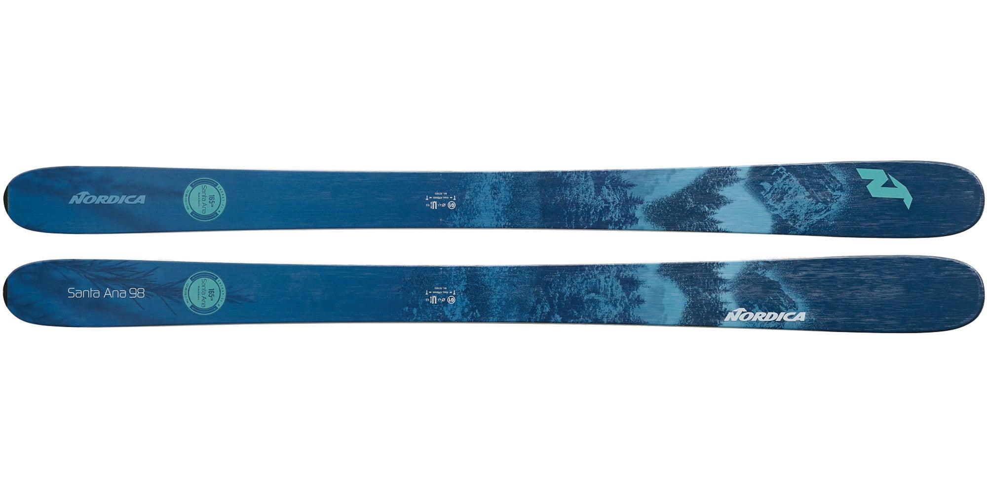 The 2021 Nordica Santa Ana 98 Women's All-Mountain Ski