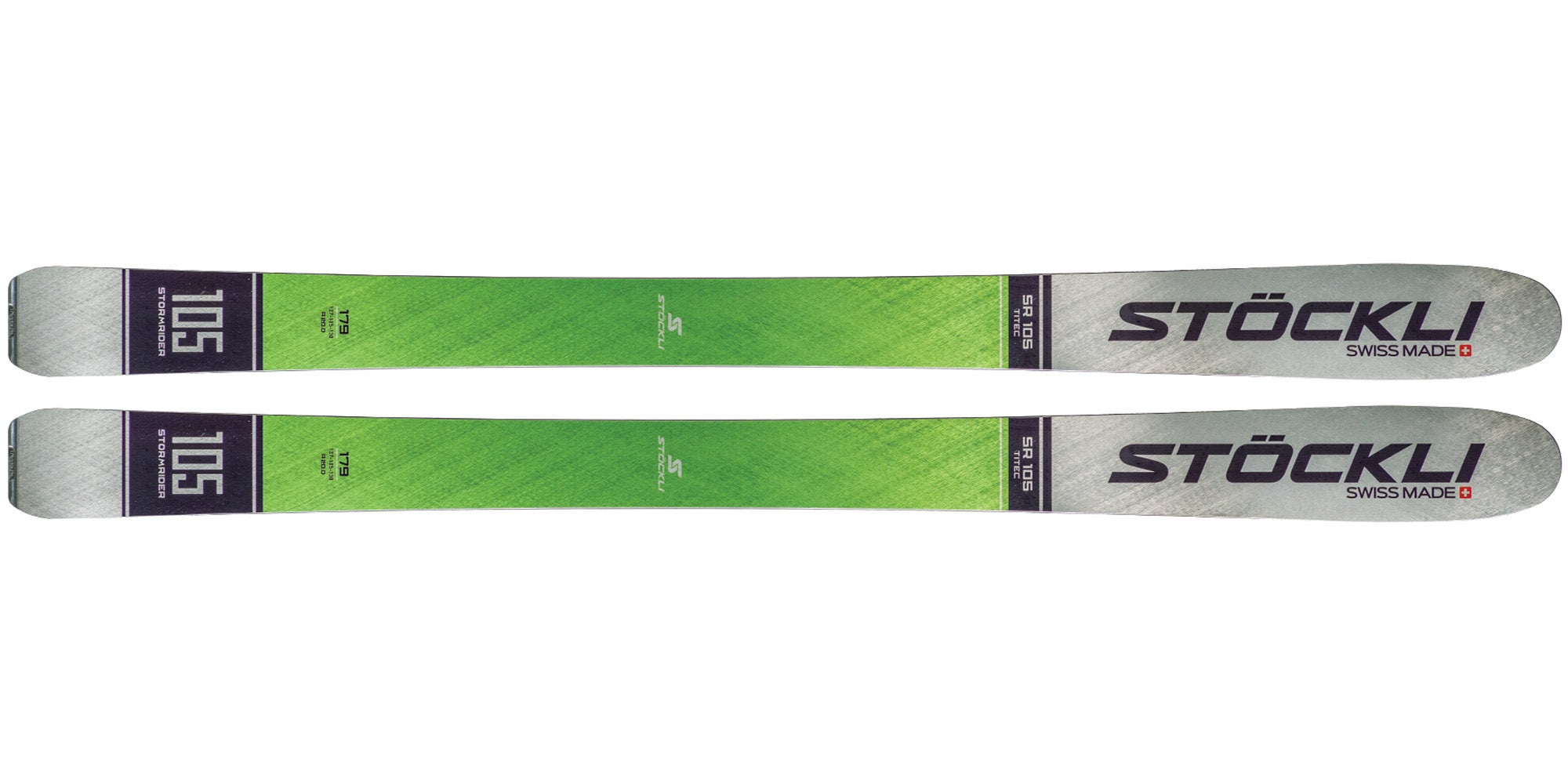 2021 Stöckli Stormrider 105 Men's All-Mountain Wide Ski