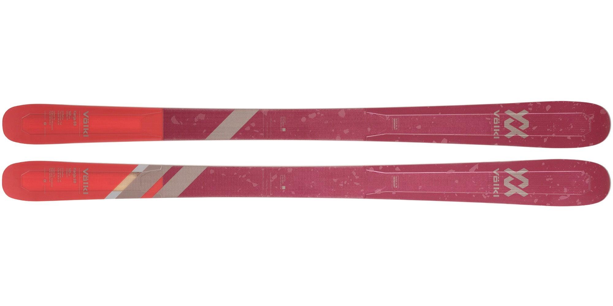 The 2021 Völkl Kenja 88 Women's Frontside Ski