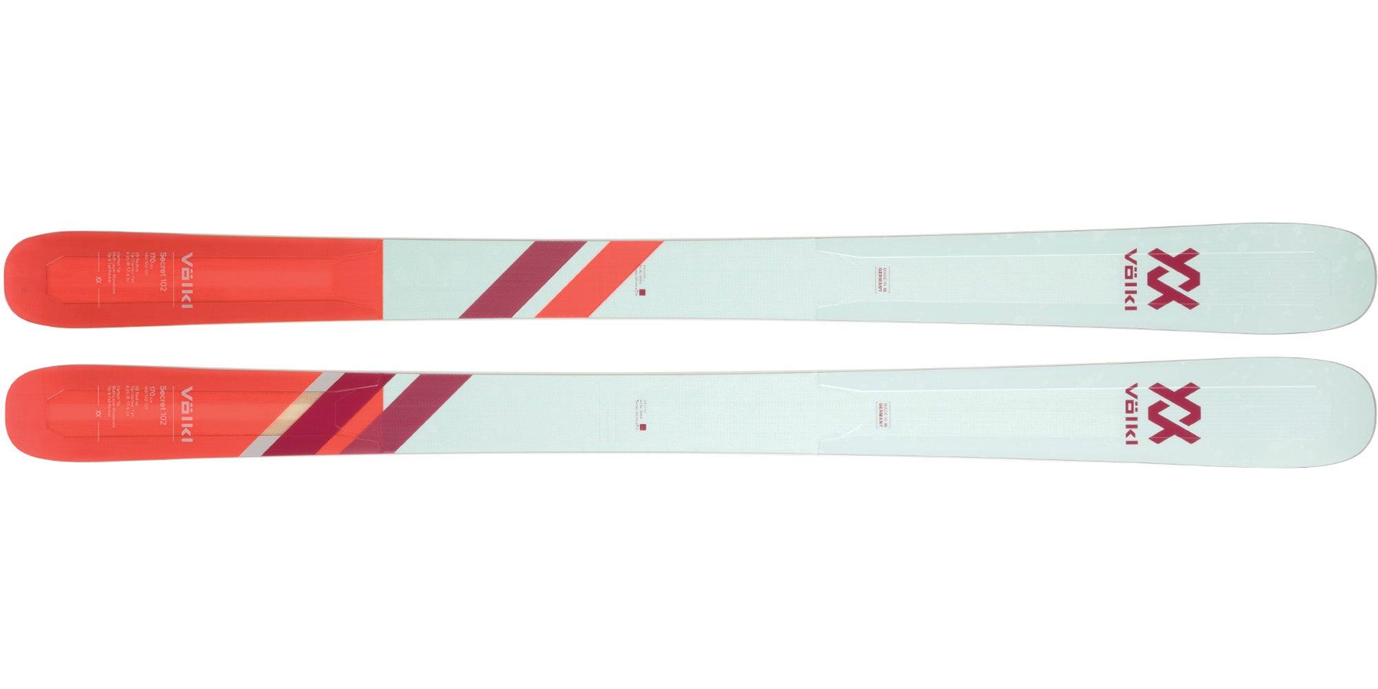 The 2021 Völkl Secret 102 Women's All-Mountain Wide Ski