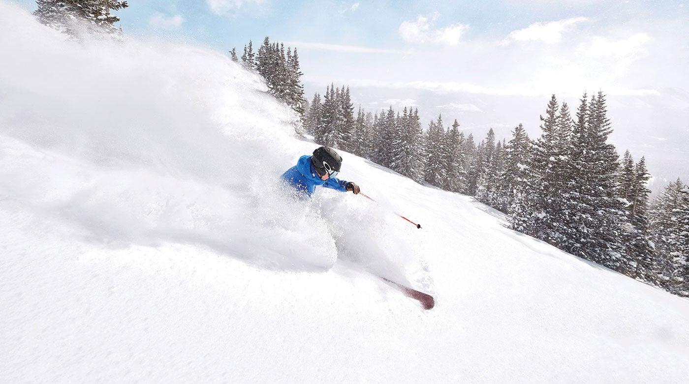 """Skiing in Breckenridge"""