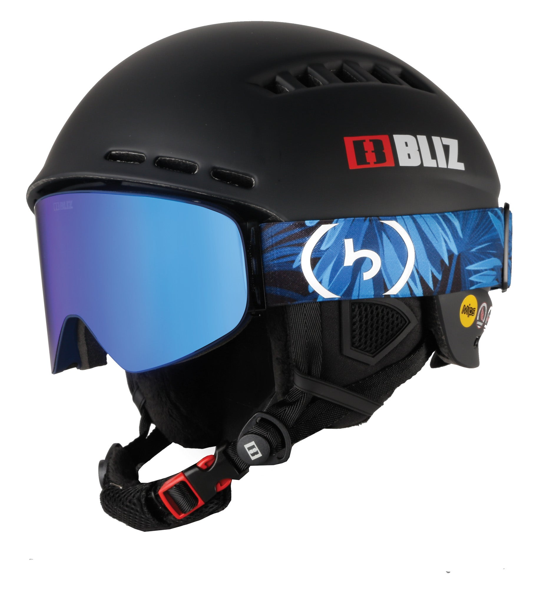 Bliz Head Cover MIPS Helmet and Flow Goggle