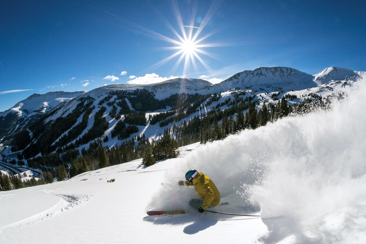 Loveland Ski Area powder day Resort Guide rank 30