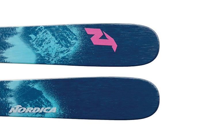 The 2021 Nordica Santa Ana 93 Women's Frontside Ski