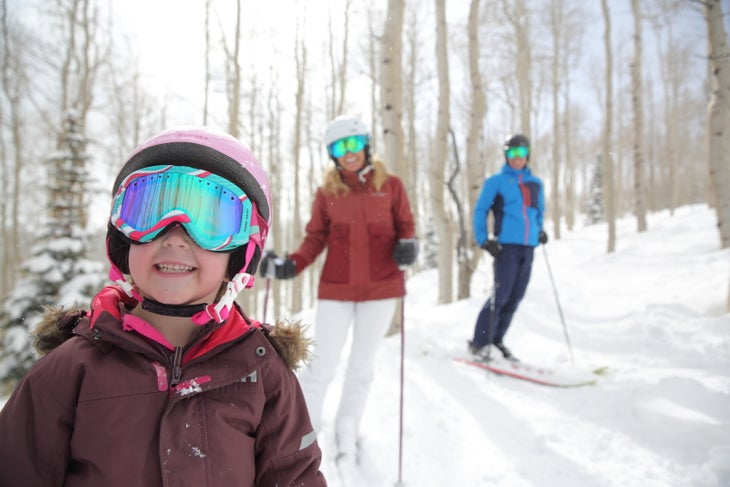 This young grom is stoked to hit the Canis Lupis at Park City Mountain.