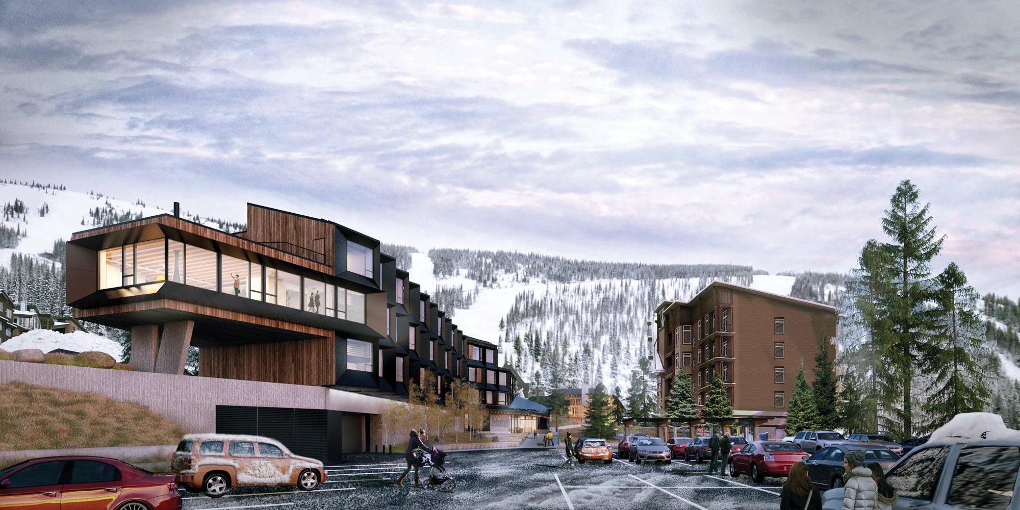Slopeside development at Schweitzer