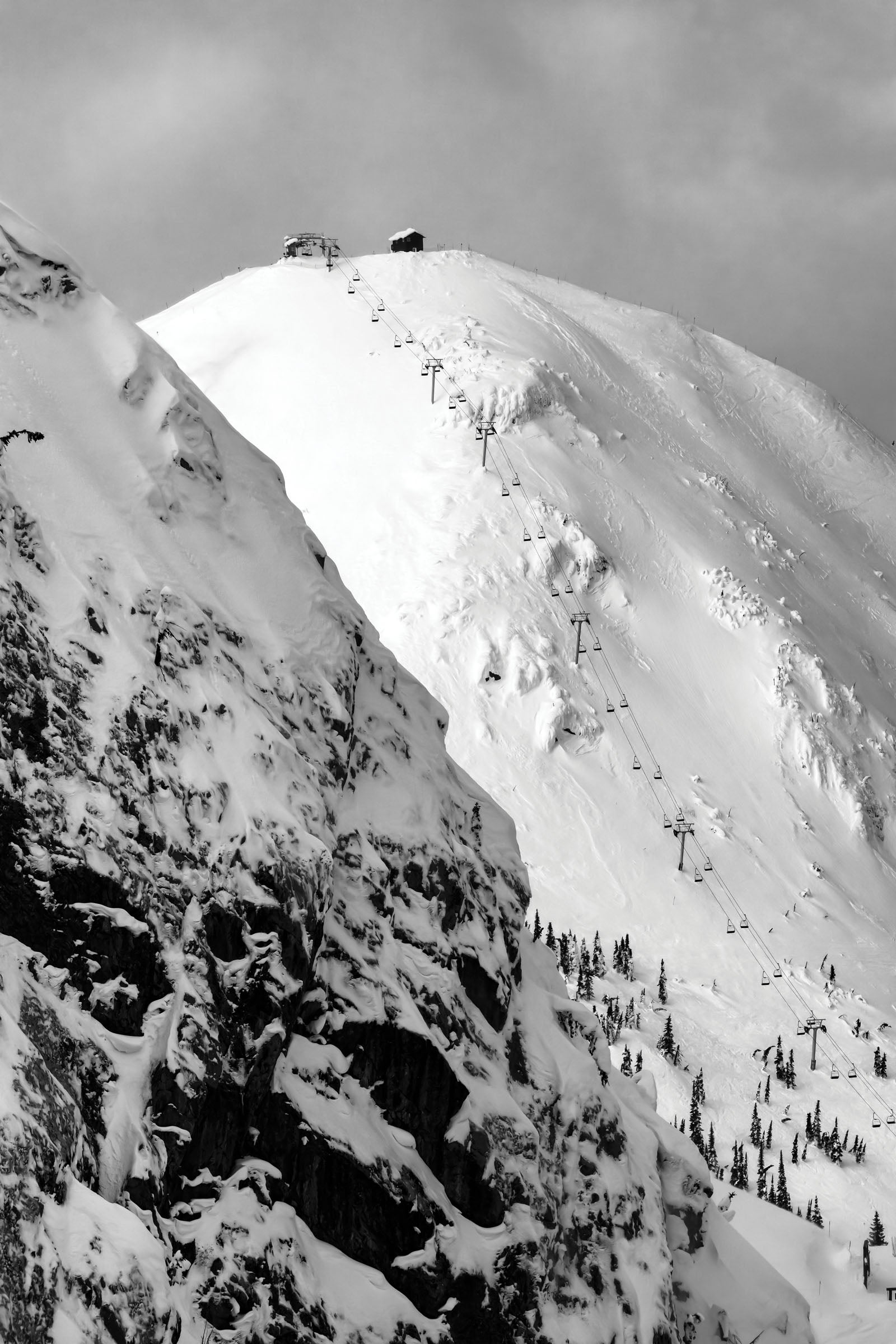 Polar Peak chair at Fernie Alpine Resort