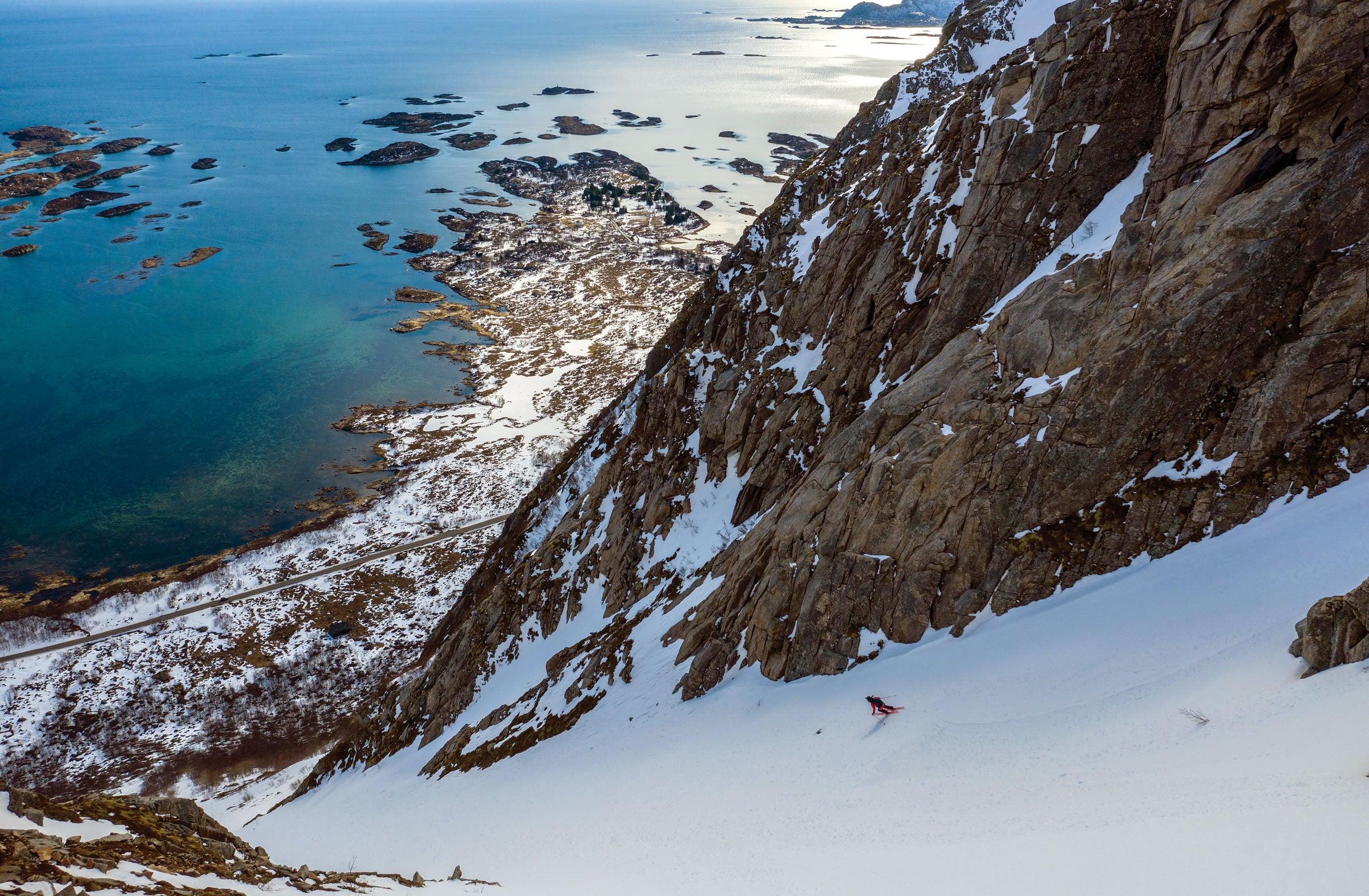 Skiing Norway's Lofoten Islands