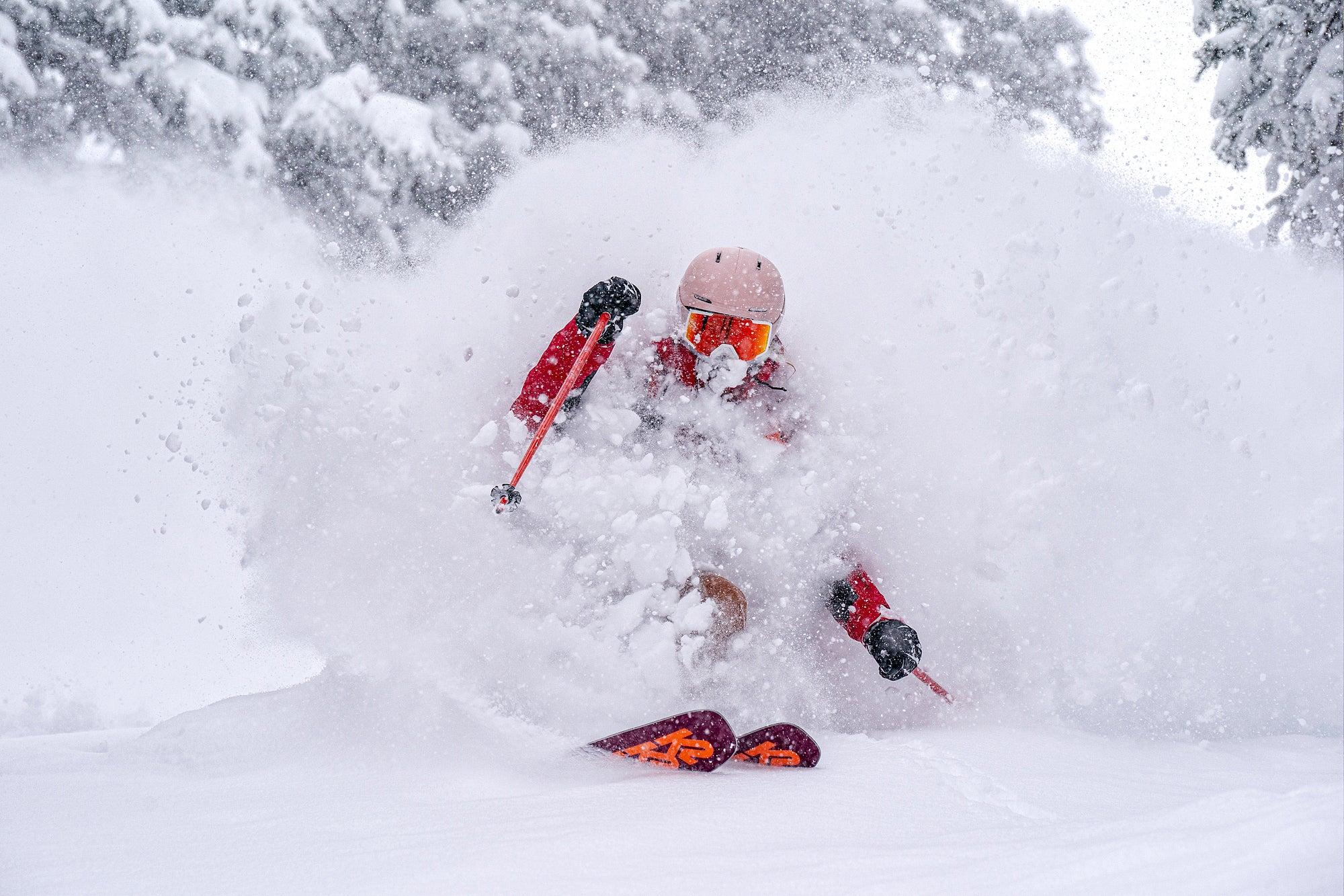 Amie Engerbretson at Taos Ski Valley, NM
