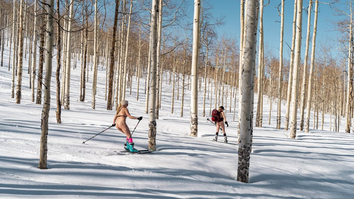 Sorry, But You Missed Colorado's Women-Only Naked Backcountry Mission