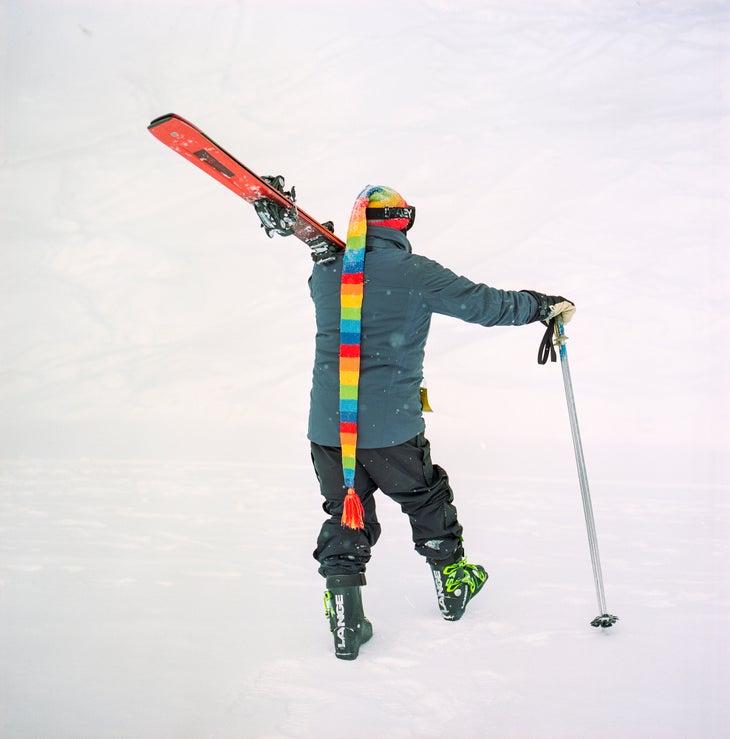 Whitewater ski hat