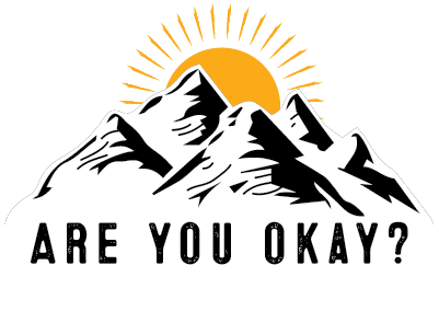 Logo: Are you okay? Mental Health Awareness in the Mountains