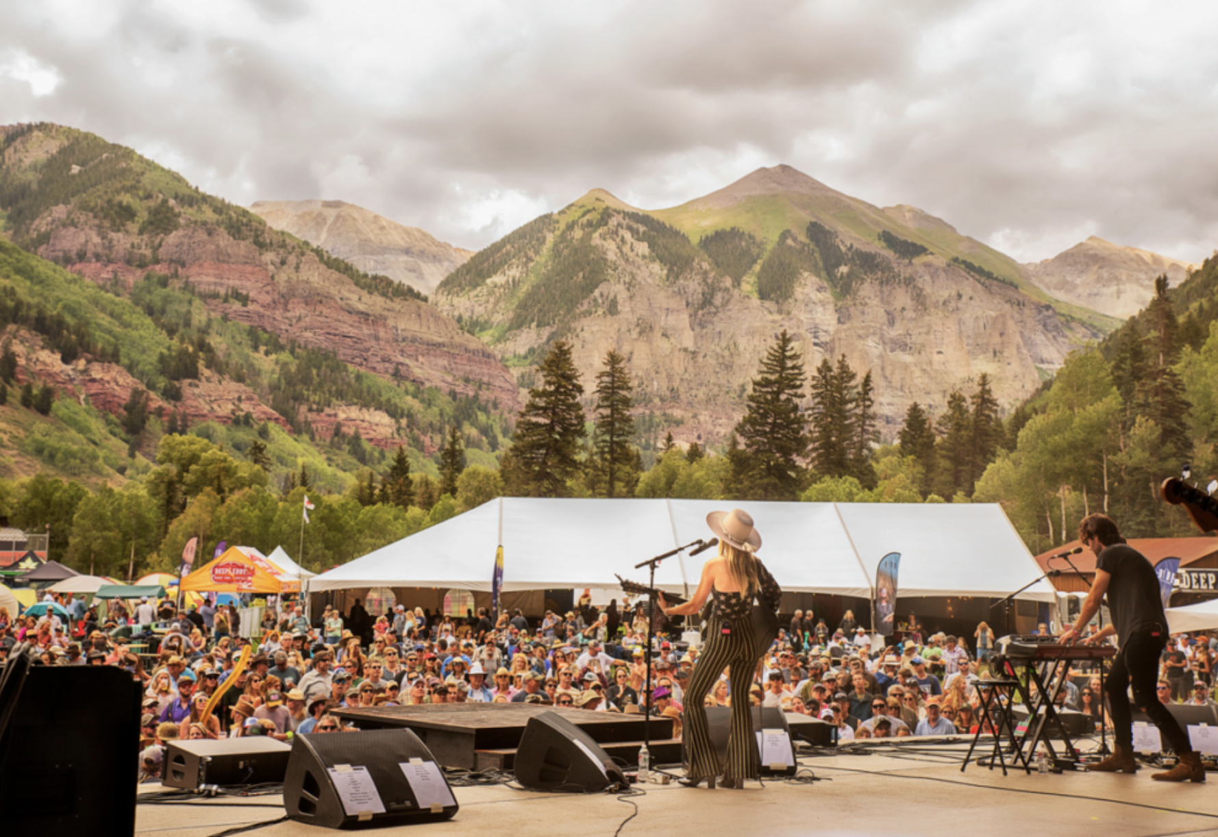 Live Music Is Back—Here's Where to Get Your Groove on In the Mountains This Summer