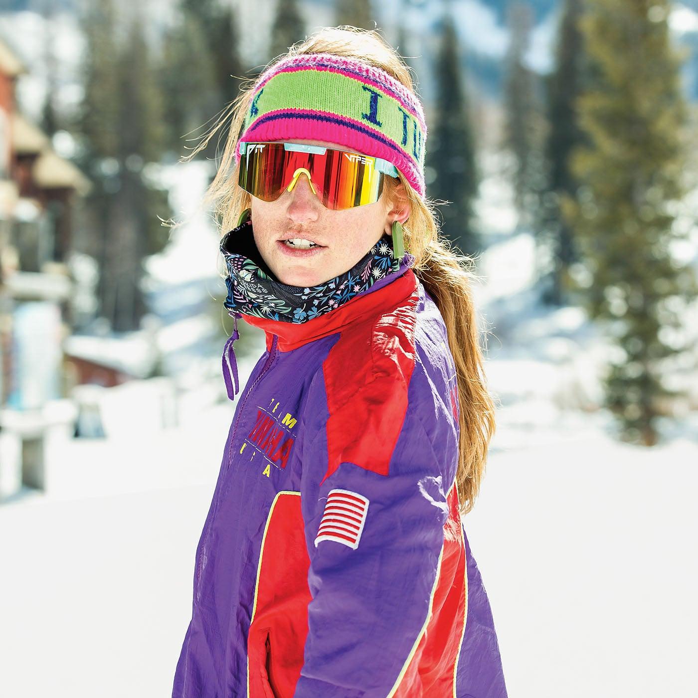 Courtney Harkins, Ski Tester 2021