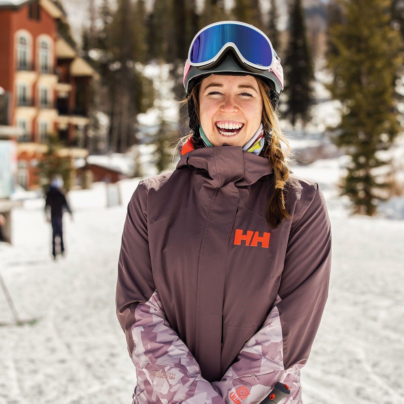 Katie Ryan, Ski Tester 2021