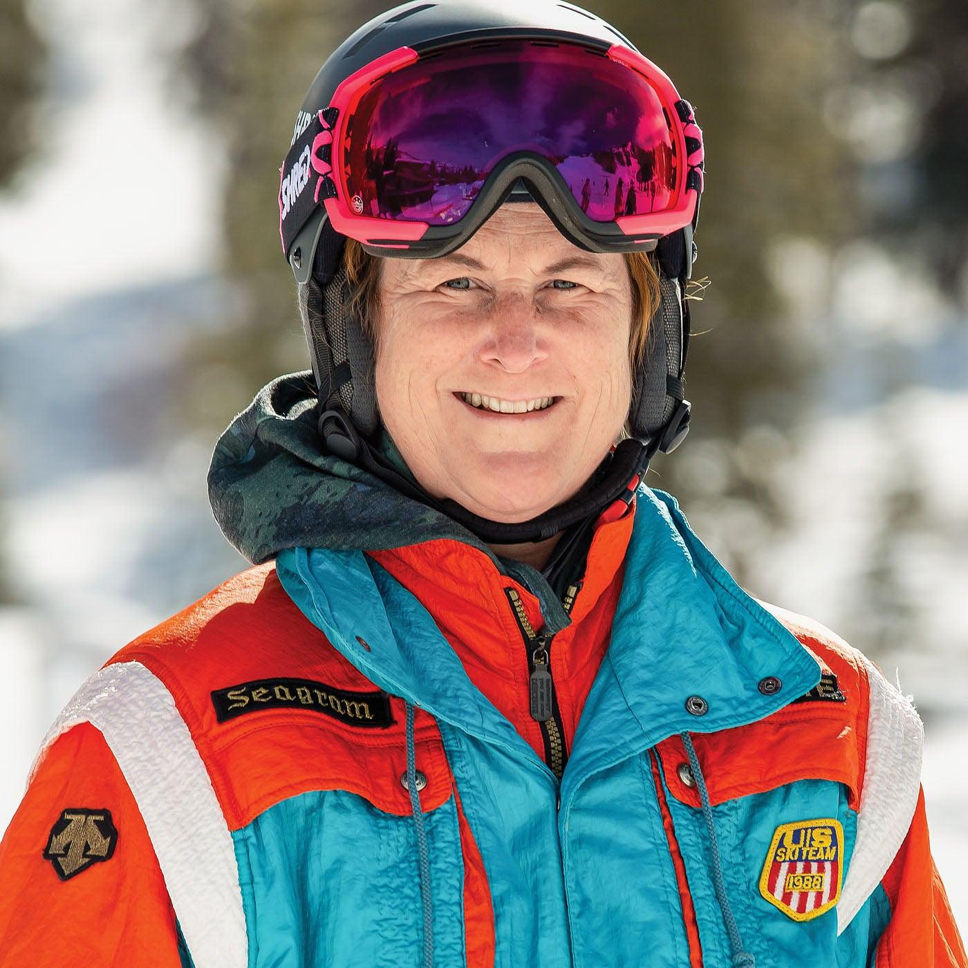 Tracy Gibbons, Ski Tester 2021