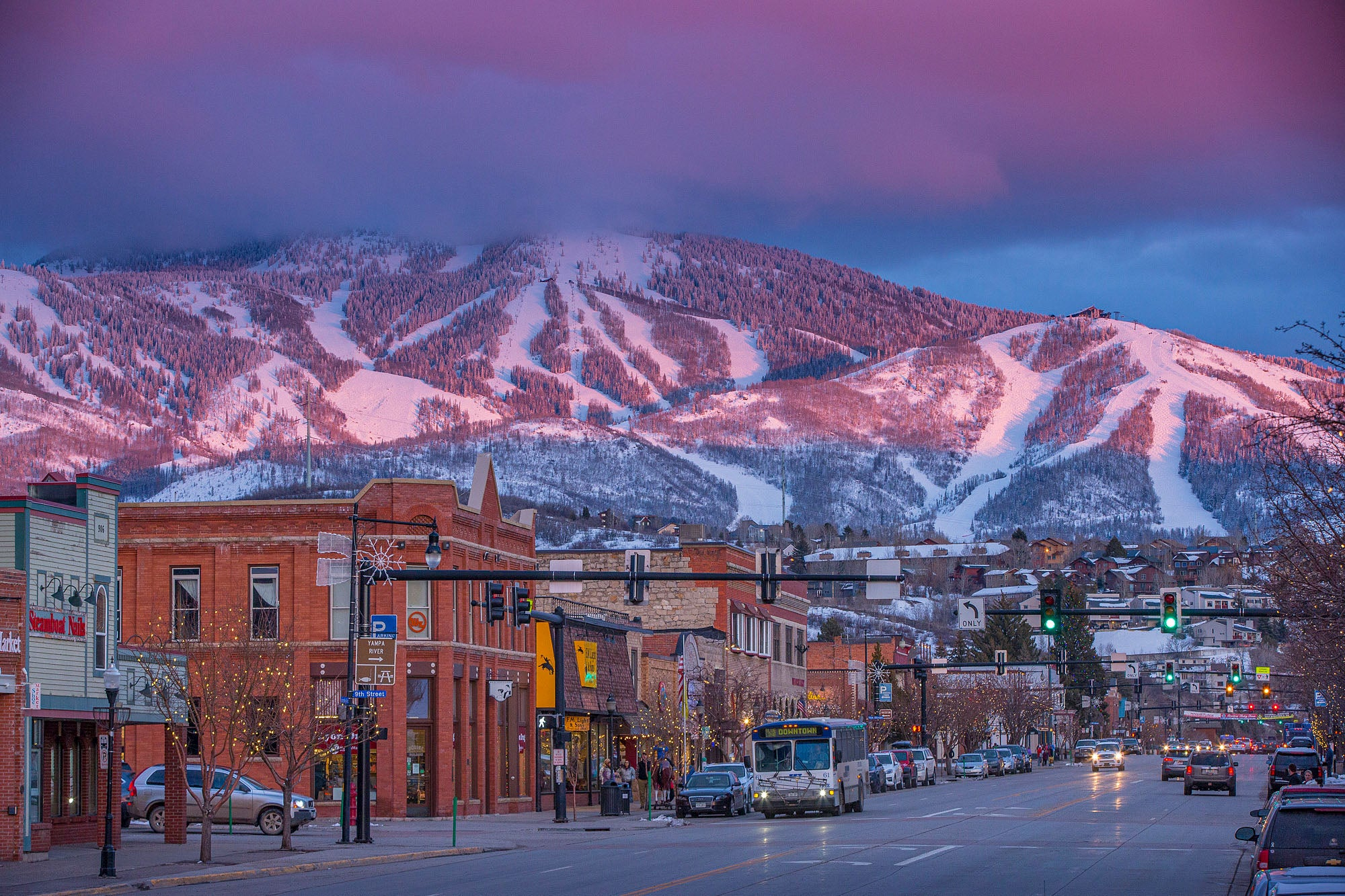 Downtown Steamboat Colorado